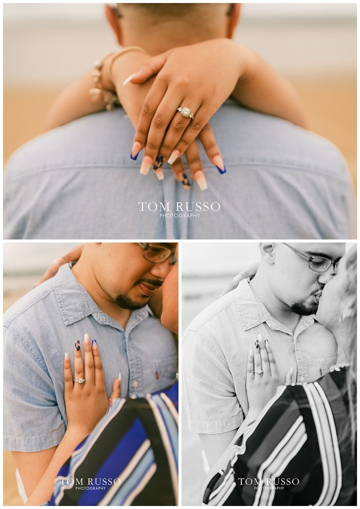 Marianny and Randy Waterfront Engagement Session Perth Amboy NJ 35
