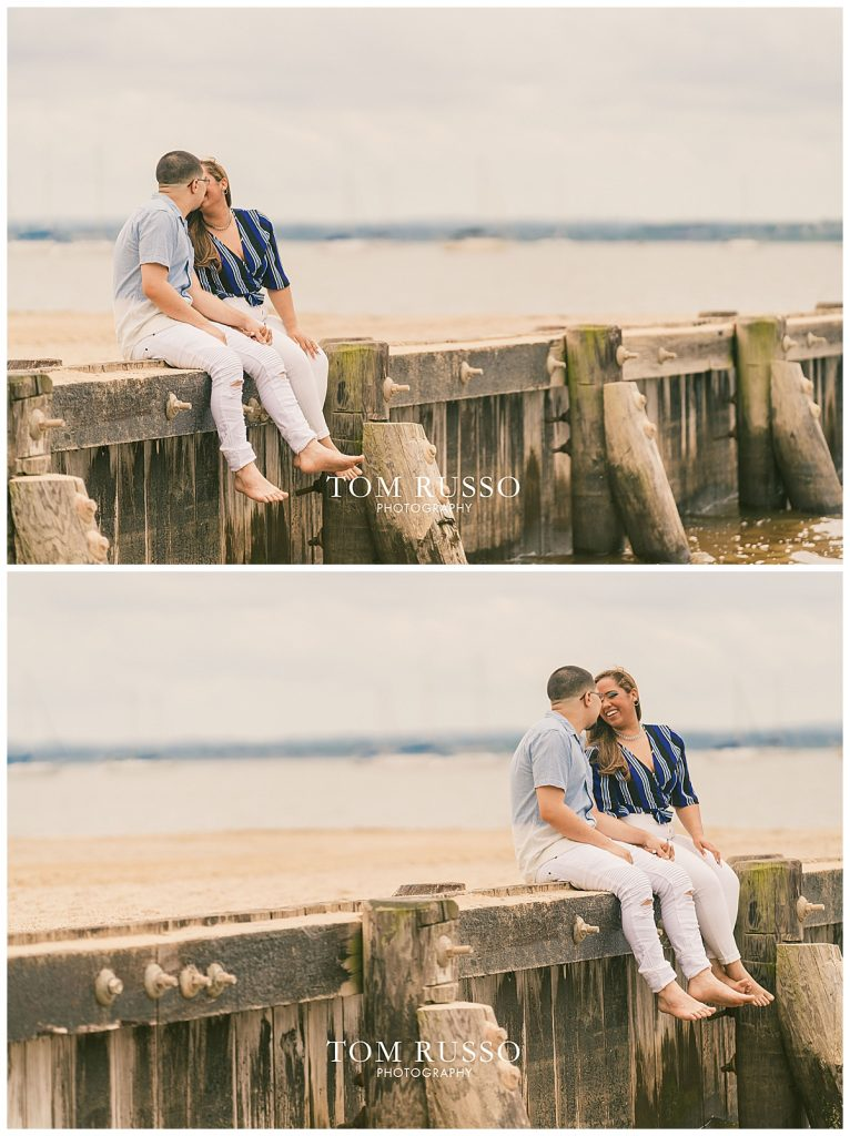 Marianny and Randy Waterfront Engagement Session Perth Amboy NJ 44