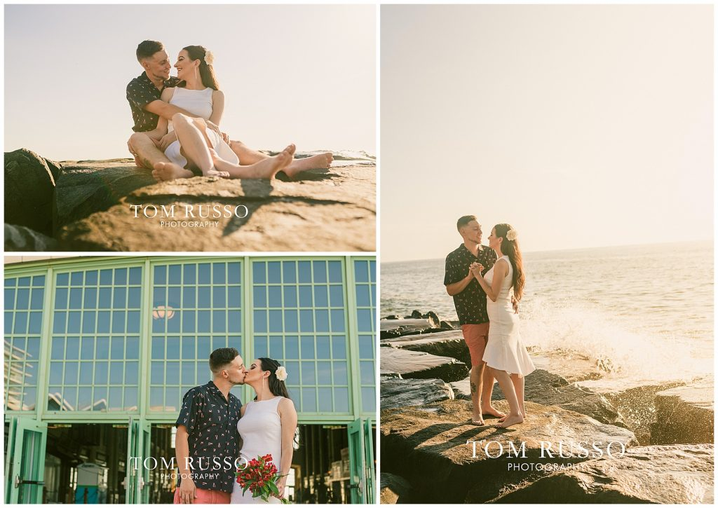 Sunrise Engagement Session Asbury NJ, Tim and Morgan Sunrise Engagement Session Asbury NJ, Top Wedding Photographer Millstone NJ
