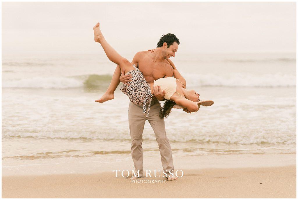 Alex & Mark Couples Session Asbury Park Beach NJ 100