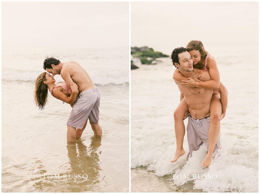 Alex & Mark Couples Session Asbury Park Beach NJ 103