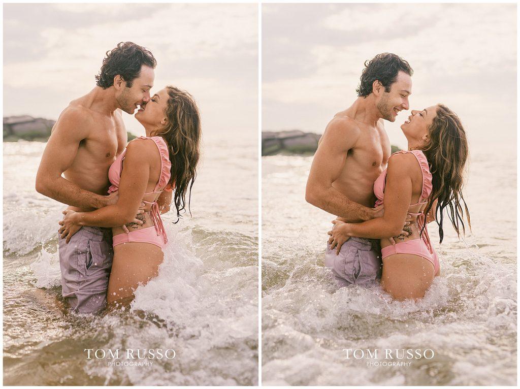 Alex & Mark Couples Session Asbury Park Beach NJ 106