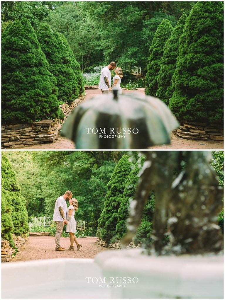 Alexis and Spencer Engagement Session Sayen Gardens Hamilton NJ 60