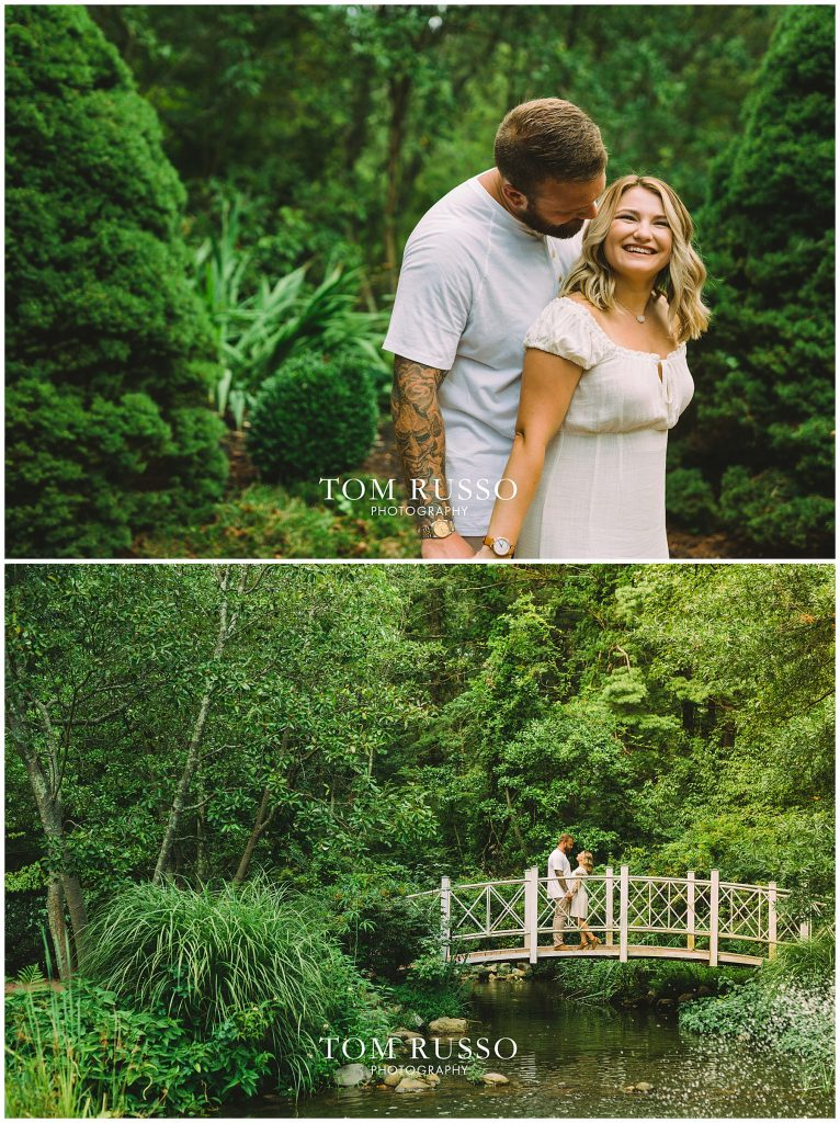 Alexis and Spencer Engagement Session Sayen Gardens Hamilton NJ 63