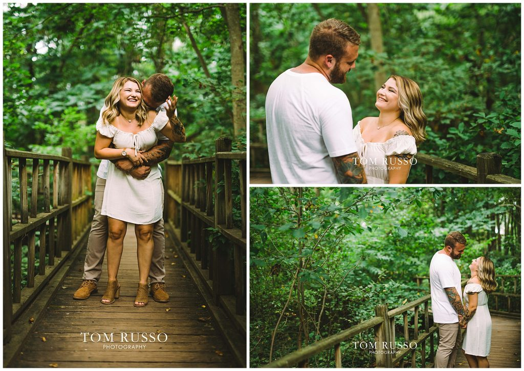 Alexis and Spencer Engagement Session Sayen Gardens Hamilton NJ 70