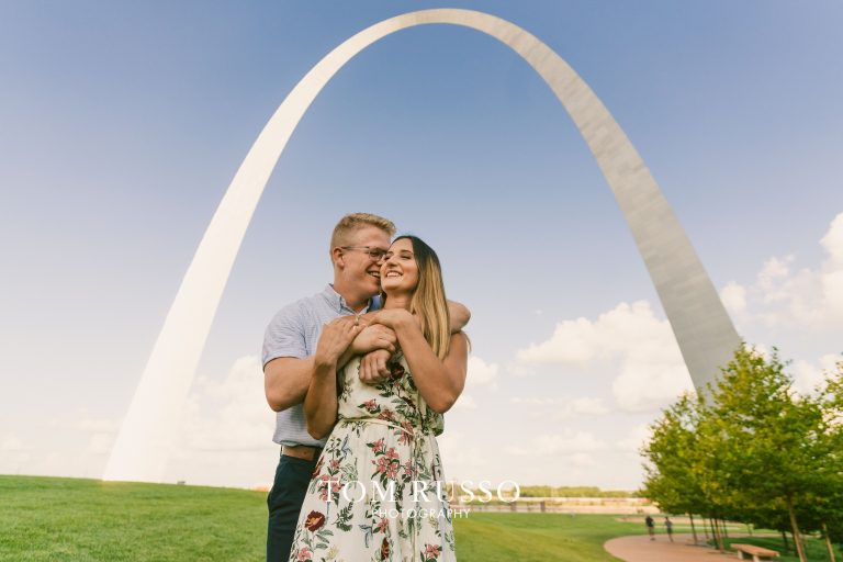 Kelly and Gavin St. Louis Engagement Session 9