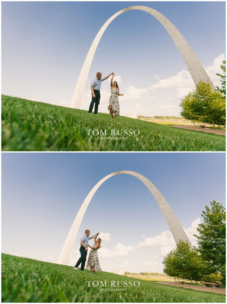 Kelly and Gavin St. Louis Engagement Session 58