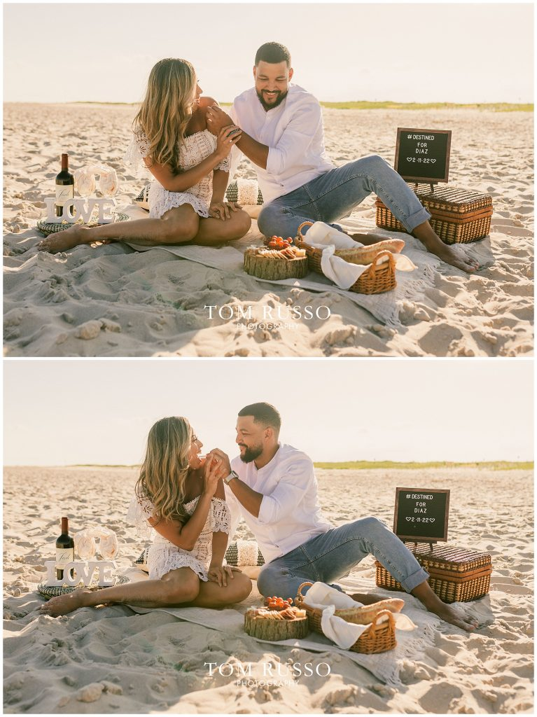 Joel and Lillie Engagement Session Long Beach Island NJ 102