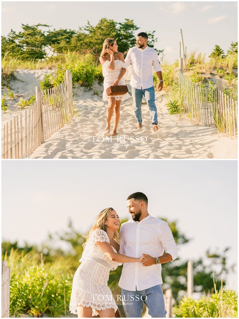 Joel and Lillie Engagement Session Long Beach Island NJ 117