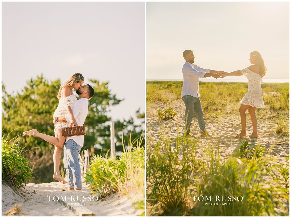 Joel and Lillie Engagement Session Long Beach Island NJ 119