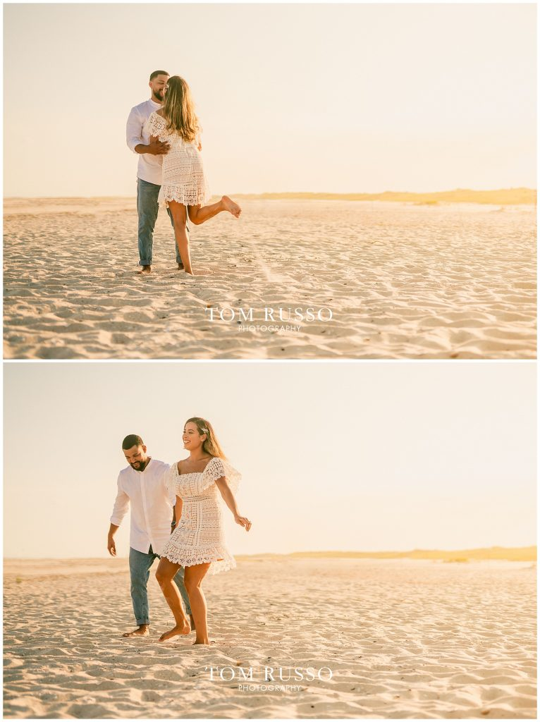Joel and Lillie Engagement Session Long Beach Island NJ 128