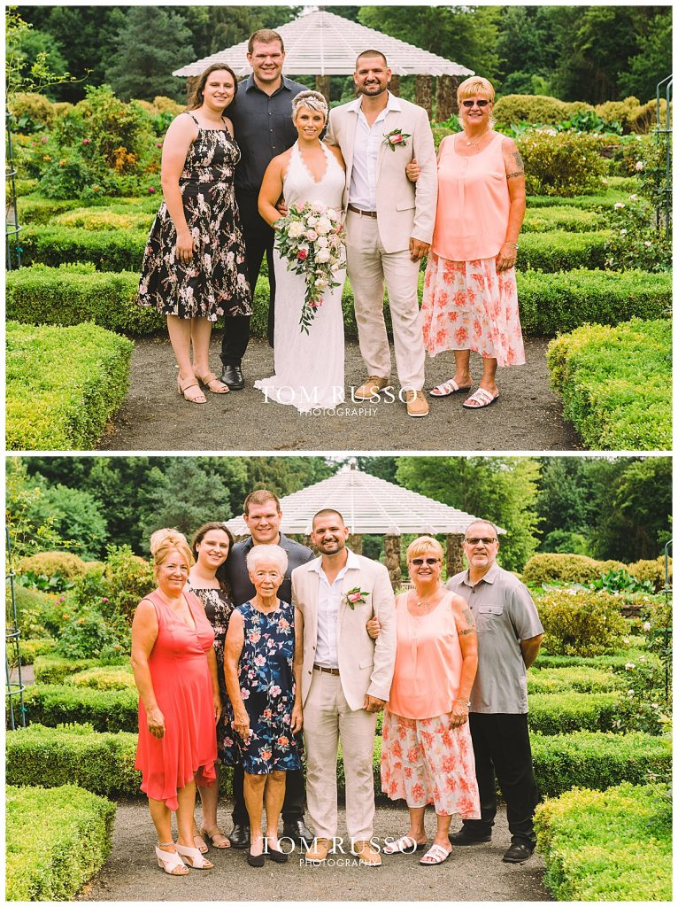 Maria and Thomas Wedding Deep Cut Gardens Middletown NJ 150