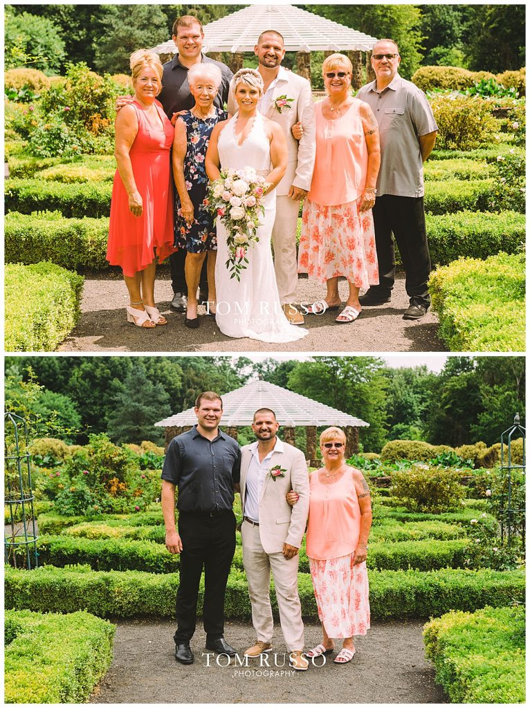 Maria and Thomas Wedding Deep Cut Gardens Middletown NJ 151