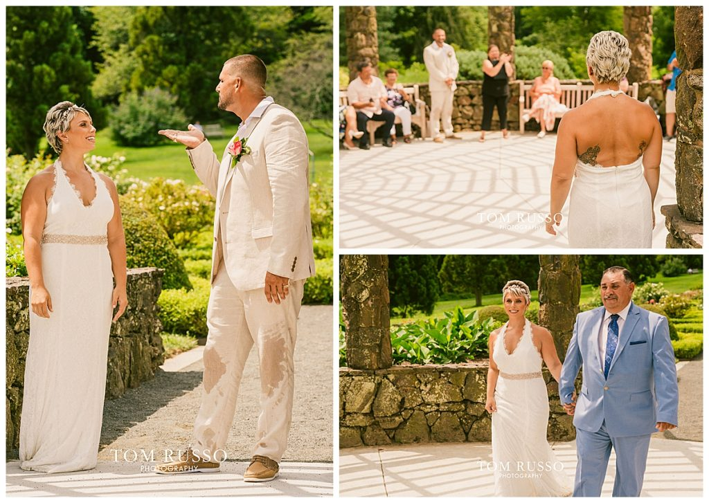 Maria and Thomas Wedding Deep Cut Gardens Middletown NJ 122