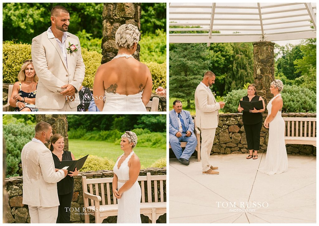 Maria and Thomas Wedding Deep Cut Gardens Middletown NJ 126