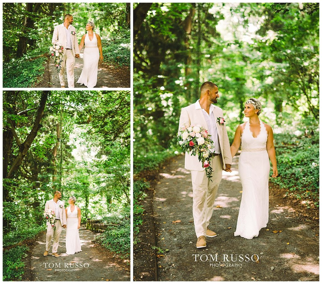 Maria and Thomas Wedding Deep Cut Gardens Middletown NJ 163