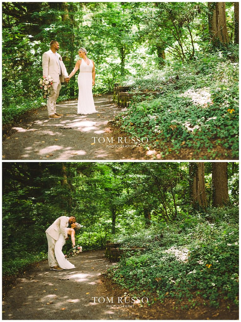 Maria and Thomas Wedding Deep Cut Gardens Middletown NJ 165