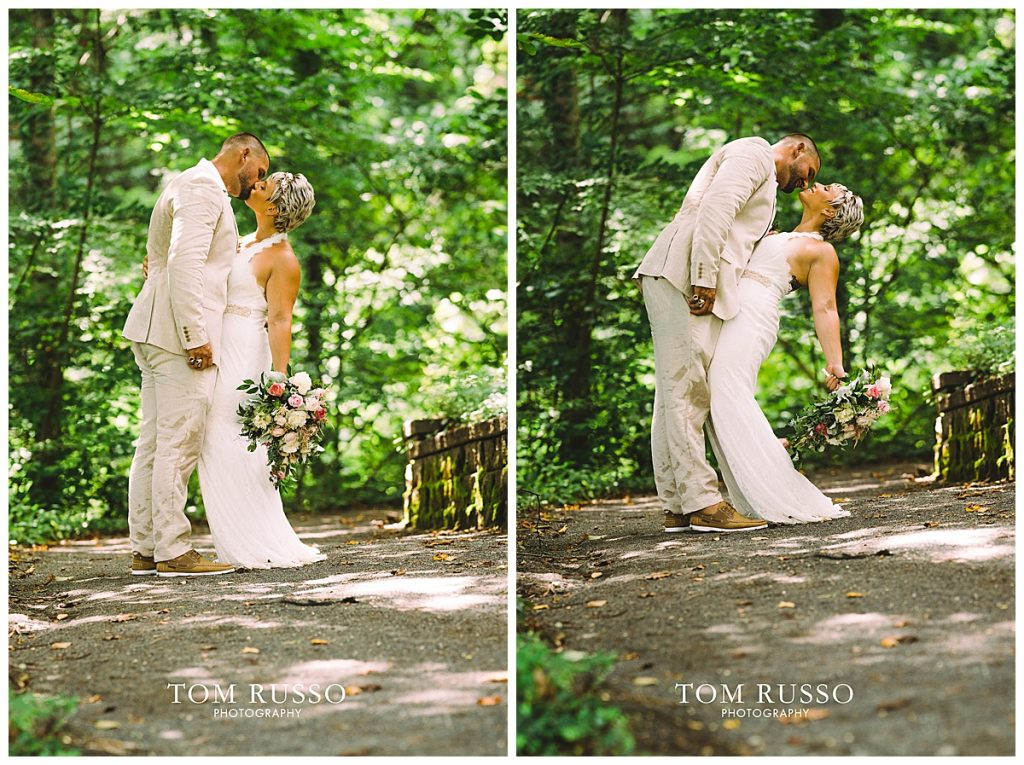 Maria and Thomas Wedding Deep Cut Gardens Middletown NJ 167