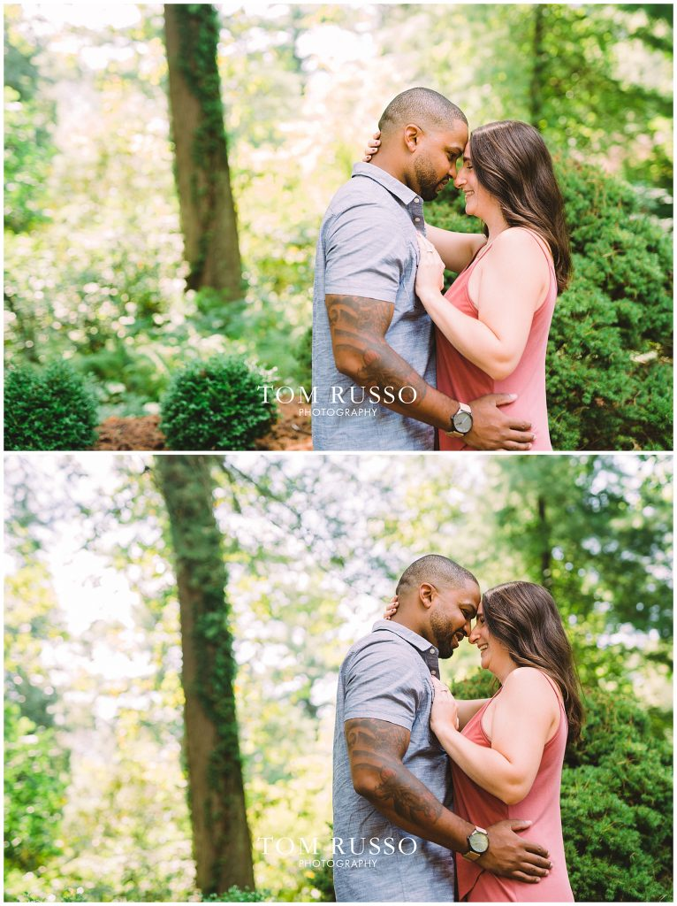 Engagement Session Sayen Gardens