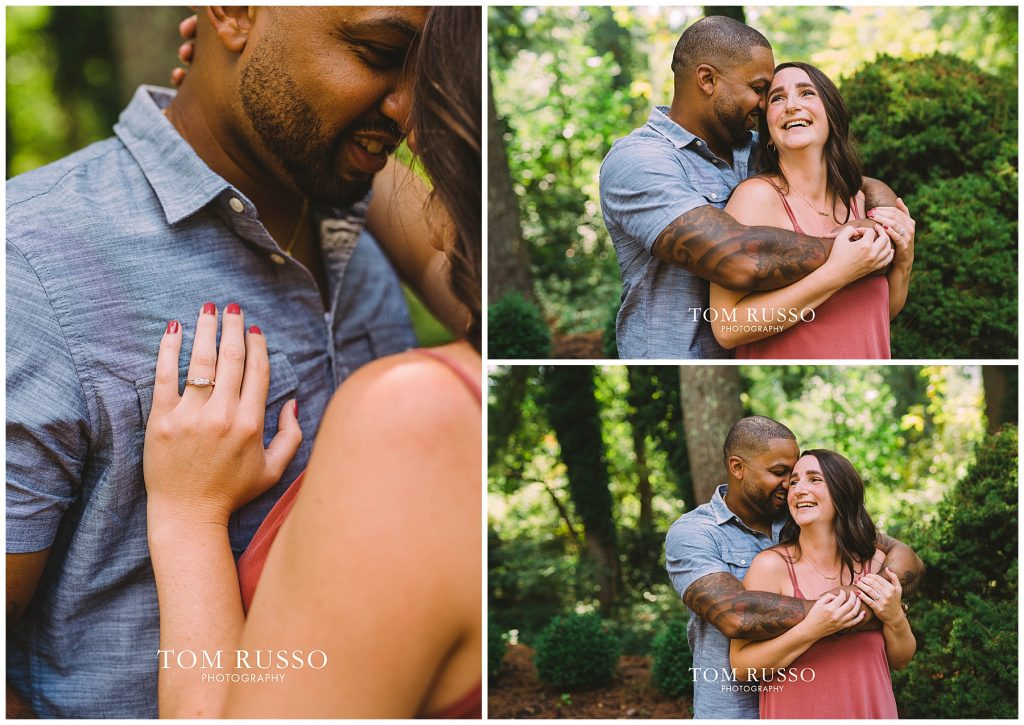 Melissa & Adrian Engagement Session Sayen Gardens Hamilton NJ 69