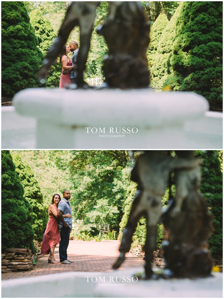 Melissa & Adrian Engagement Session Sayen Gardens Hamilton NJ 71