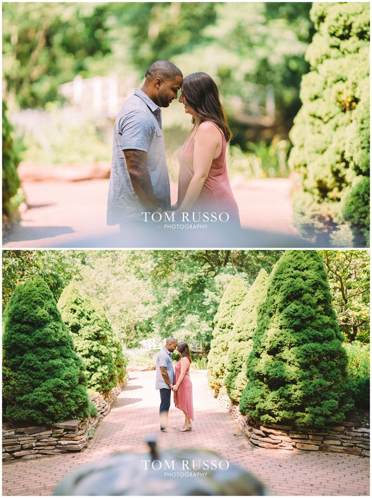 Melissa & Adrian Engagement Session Sayen Gardens Hamilton NJ 72