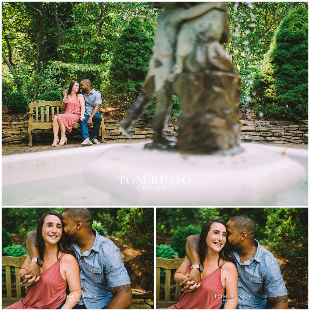 Melissa & Adrian Engagement Session Sayen Gardens Hamilton NJ 73