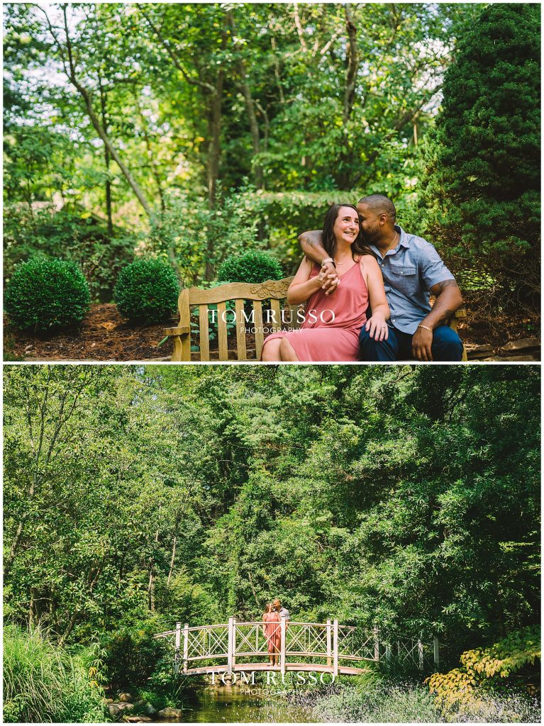 Melissa & Adrian Engagement Session Sayen Gardens Hamilton NJ 74