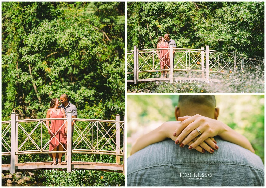Melissa & Adrian Engagement Session Sayen Gardens Hamilton NJ 75
