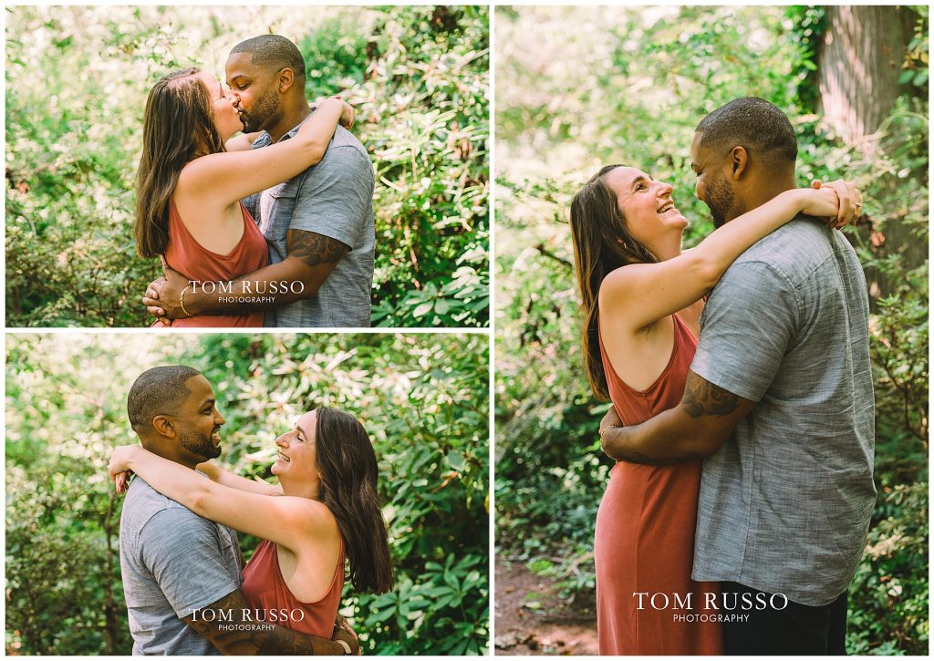 Melissa & Adrian Engagement Session Sayen Gardens Hamilton NJ 77