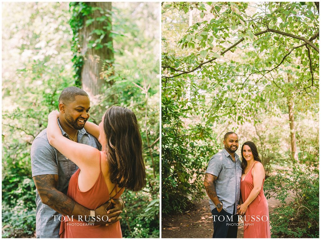 Melissa & Adrian Engagement Session Sayen Gardens Hamilton NJ 79