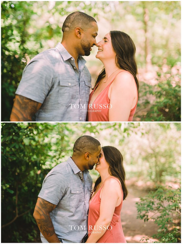 Melissa & Adrian Engagement Session Sayen Gardens Hamilton NJ 81