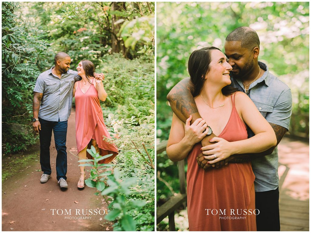 Melissa & Adrian Engagement Session Sayen Gardens Hamilton NJ 84