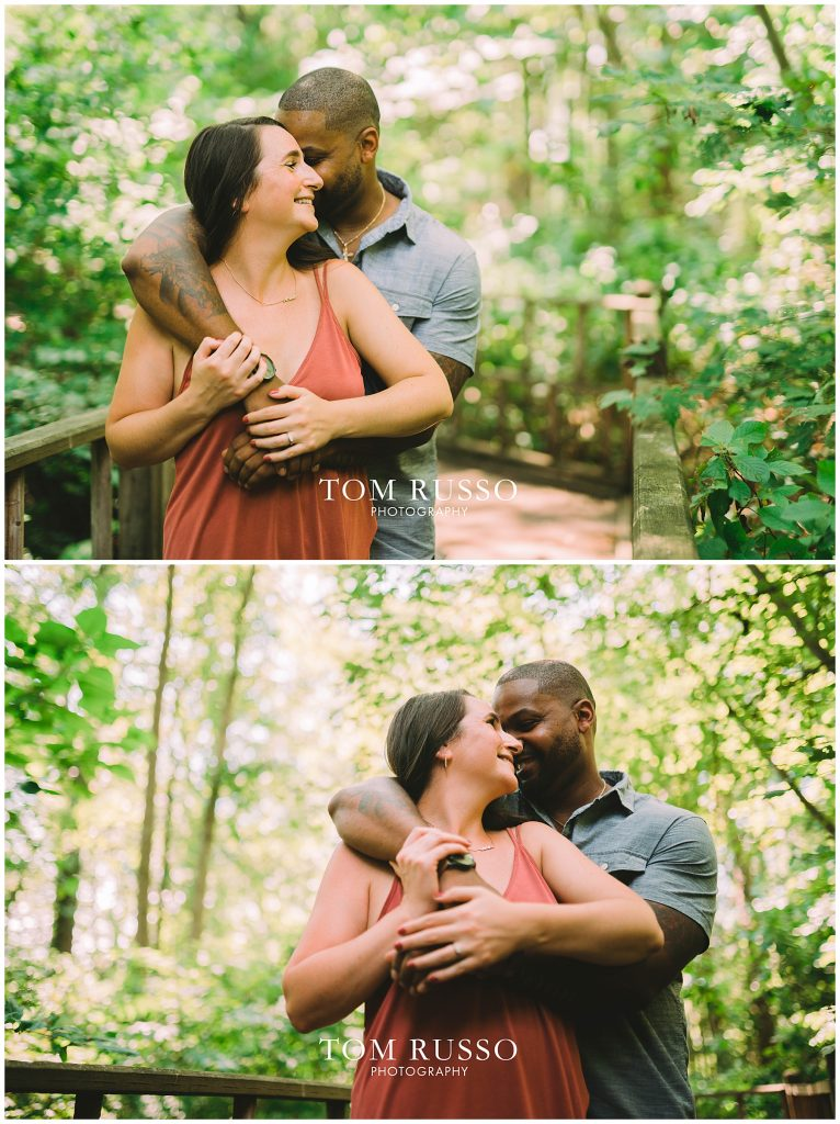 Melissa & Adrian Engagement Session Sayen Gardens Hamilton NJ 85