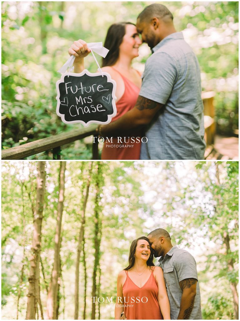 Melissa & Adrian Engagement Session Sayen Gardens Hamilton NJ 88