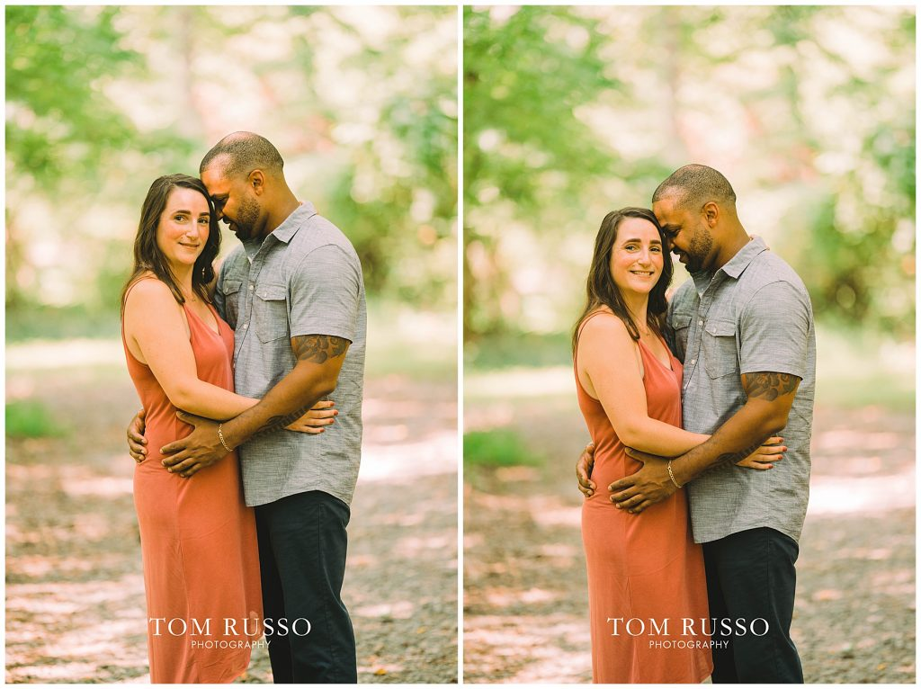 Melissa & Adrian Engagement Session Sayen Gardens Hamilton NJ 90