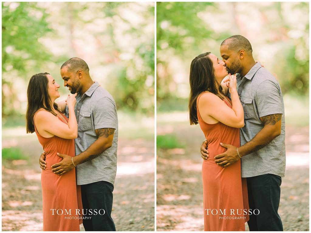 Melissa & Adrian Engagement Session Sayen Gardens Hamilton NJ 91