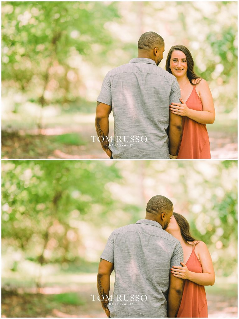 Melissa & Adrian Engagement Session Sayen Gardens Hamilton NJ 92