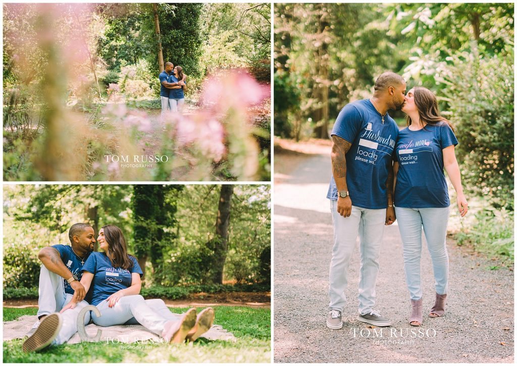 Melissa & Adrian Engagement Session Sayen Gardens Hamilton NJ 94