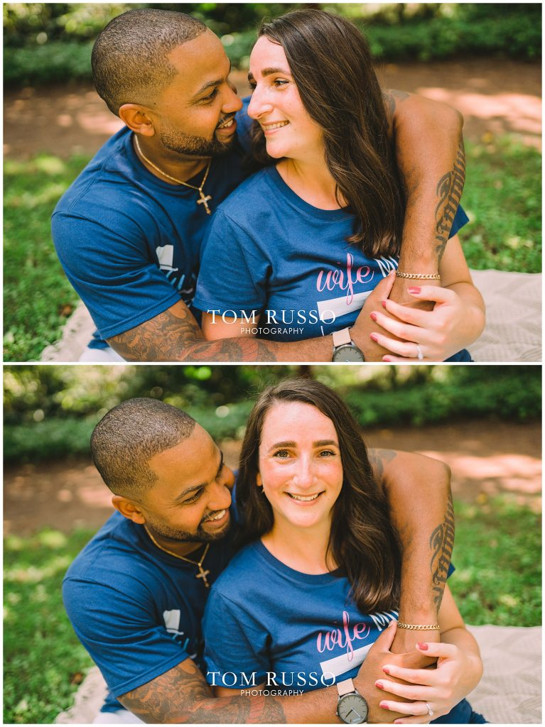 Melissa & Adrian Engagement Session Sayen Gardens Hamilton NJ 95