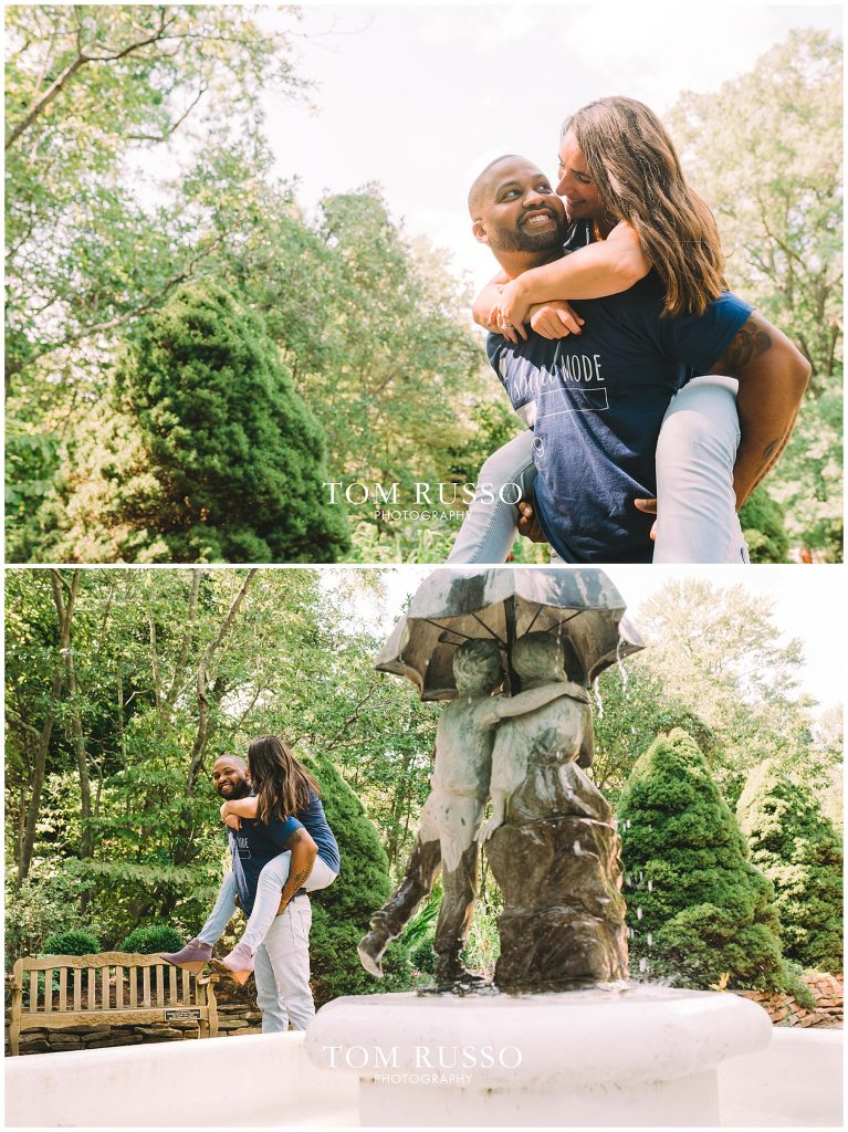 Melissa & Adrian Engagement Session Sayen Gardens Hamilton NJ 99