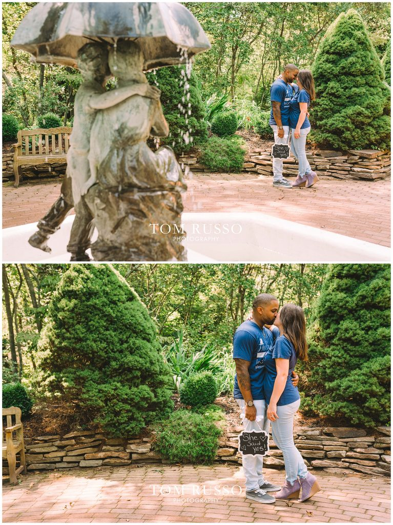 Melissa & Adrian Engagement Session Sayen Gardens Hamilton NJ 100