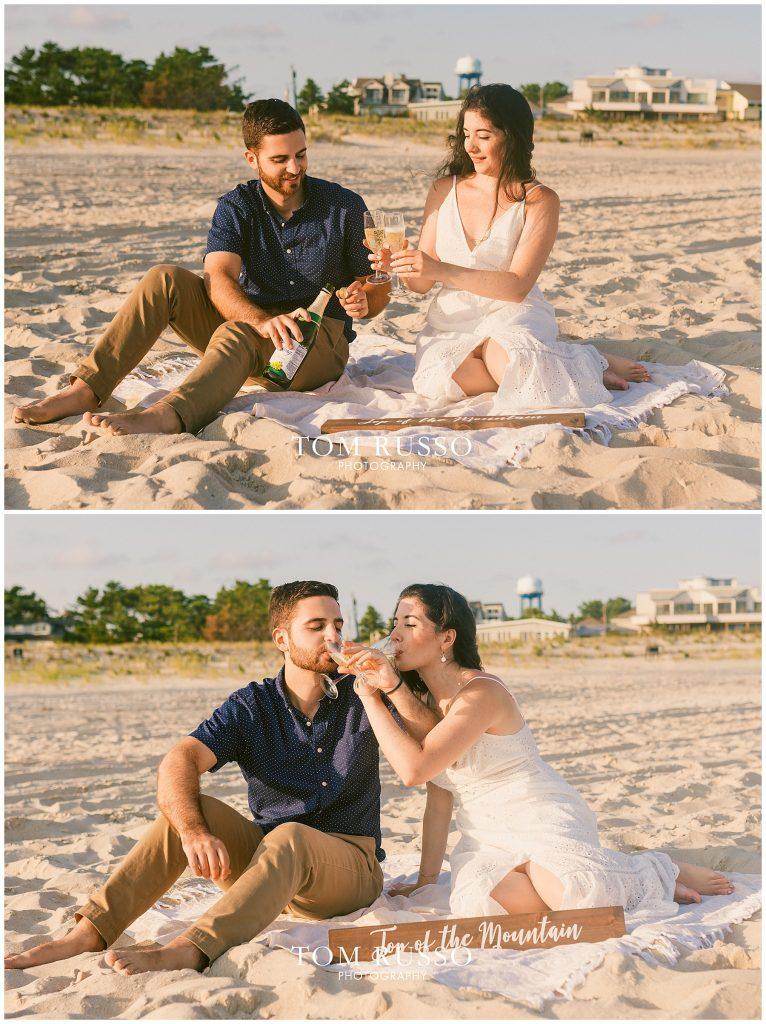 Engagement Session Long Beach Island