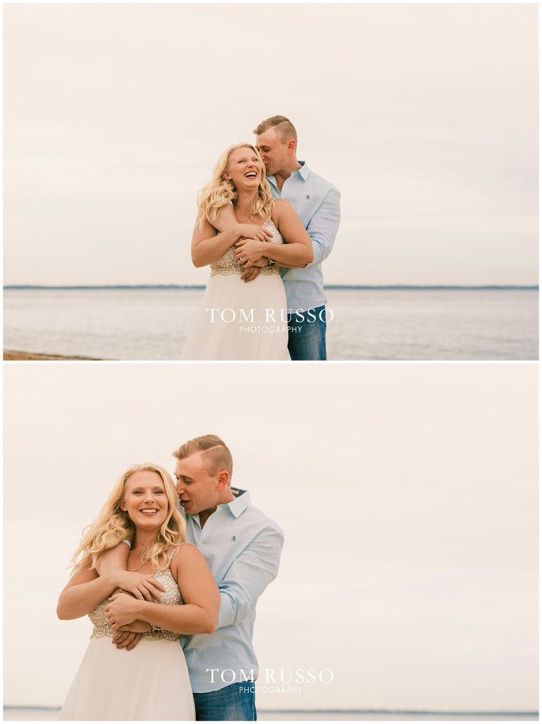 Justin & Lori Engagement Session Cliffwood Beach NJ 54