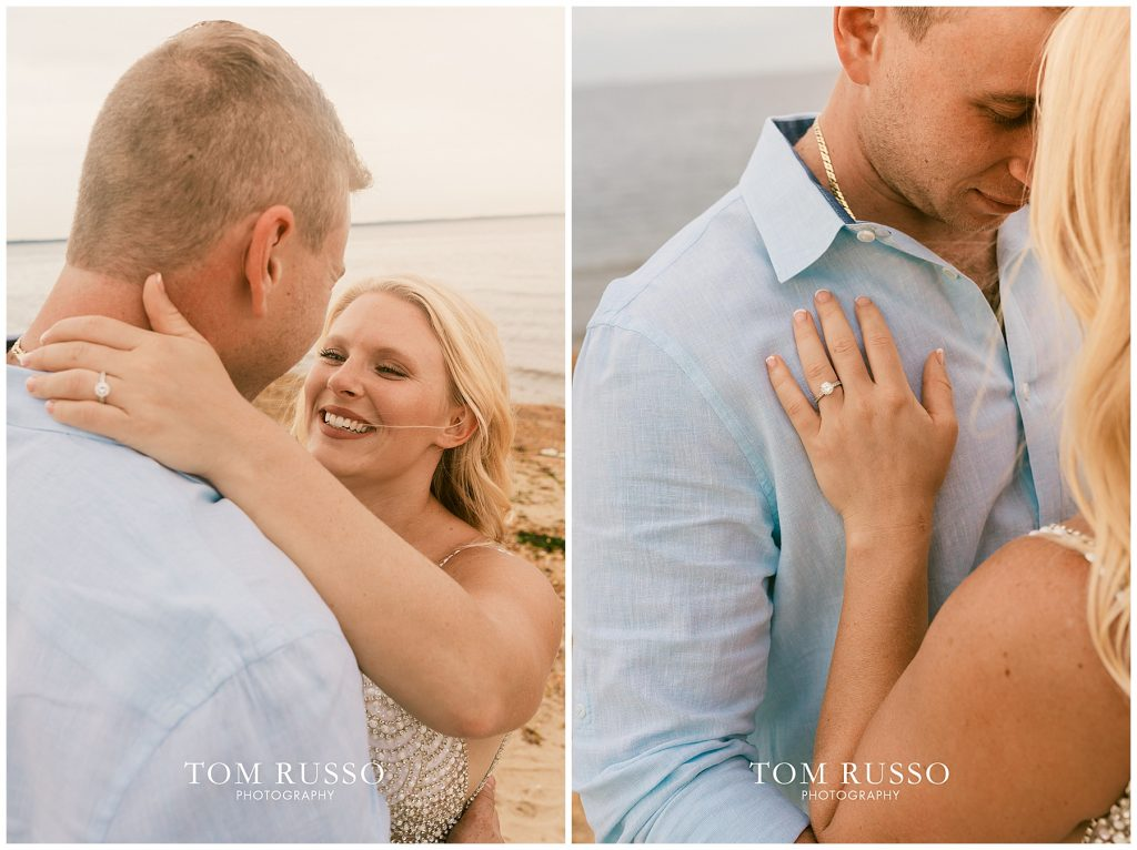 Justin & Lori Engagement Session Cliffwood Beach NJ 56
