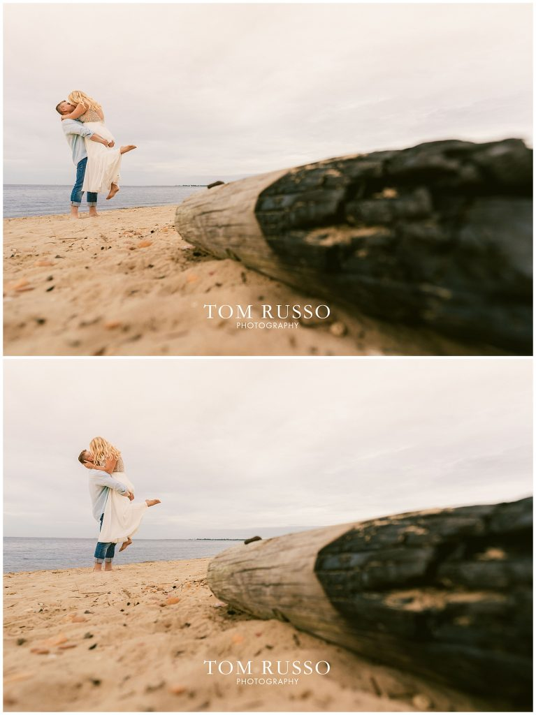 Justin & Lori Engagement Session Cliffwood Beach NJ 64