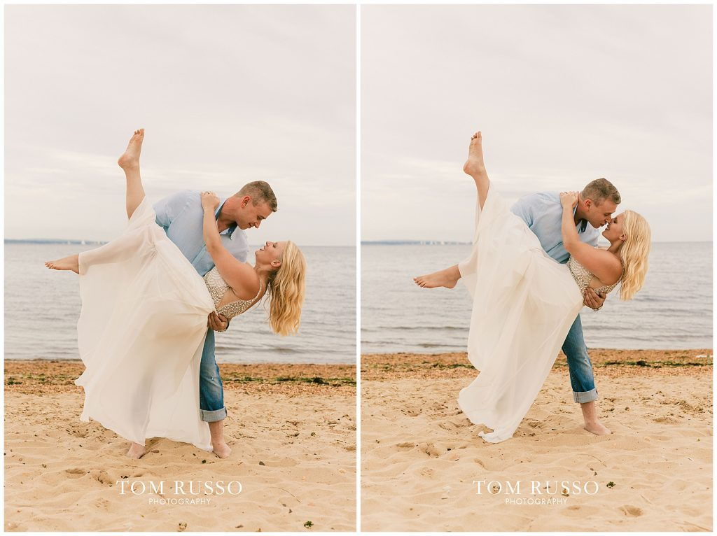 Justin & Lori Engagement Session Cliffwood Beach NJ 70