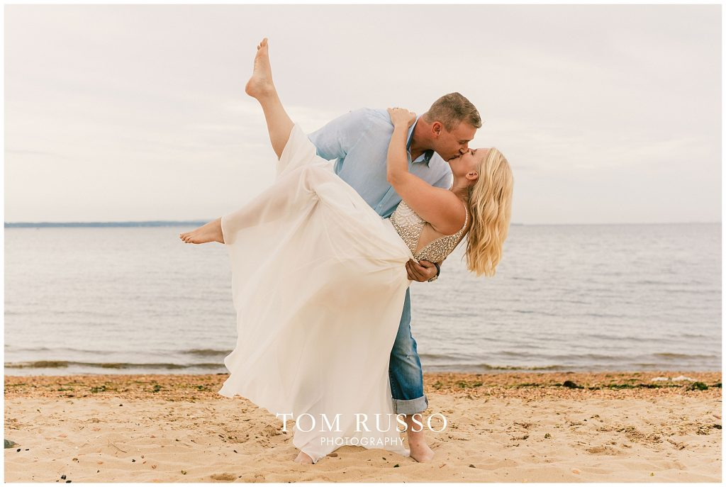 Justin & Lori Engagement Session Cliffwood Beach NJ 71