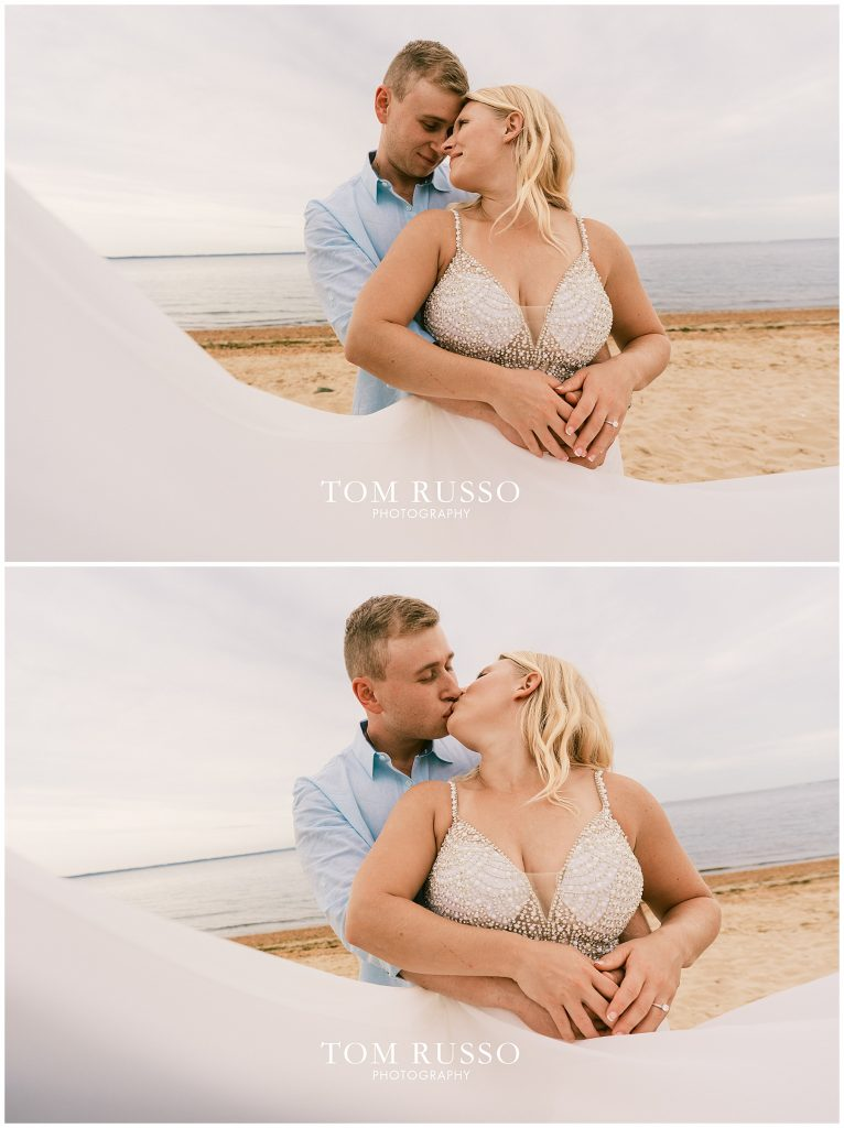 Justin & Lori Engagement Session Cliffwood Beach NJ 73
