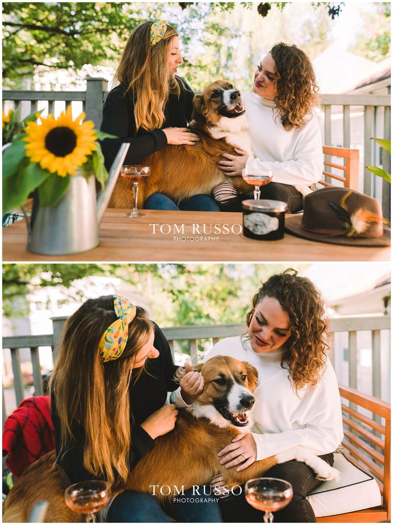 Jenny & Kate Engagement Session Haddonfield NJ 51